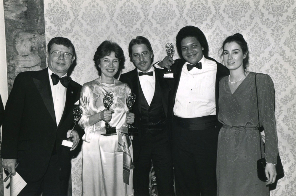 Emmys for producing and writing, <em>What Man Shall Live and Not See Death</em> '72