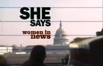 She Says: Women in News (Full Program)