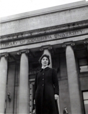 Graduation from J-School, '61